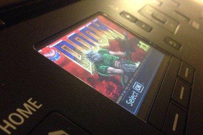 hacking printer and playting doom