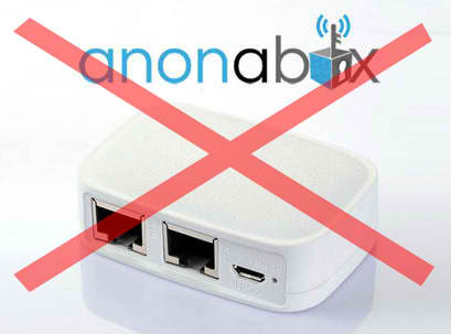 Anonabox Removed kickstarter crowdfunding