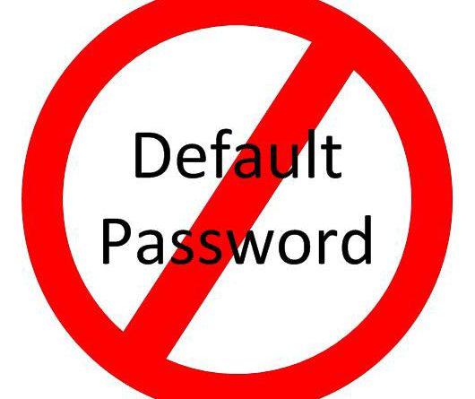 default password metasploitable2