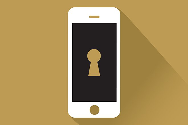 iPhone encrypted