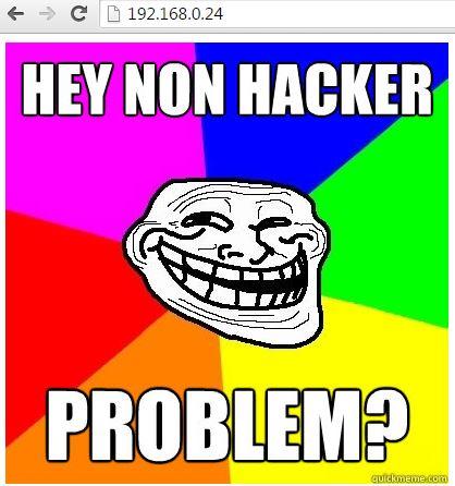 troll homepage