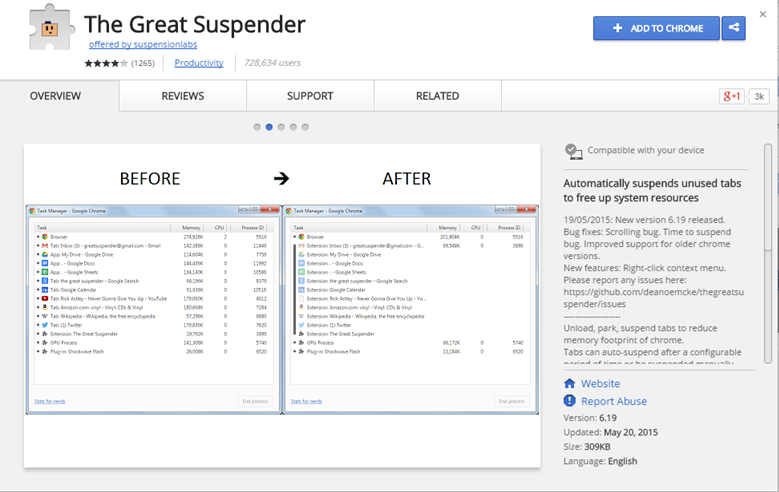Google-Chrome-Extension-The-Great-Suspender