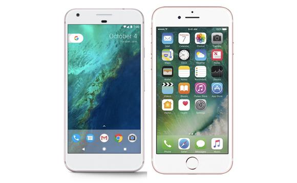 google-pixel-vs-iphone-7