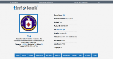 TinfoLeak – Full Information About A Twitter User Activity