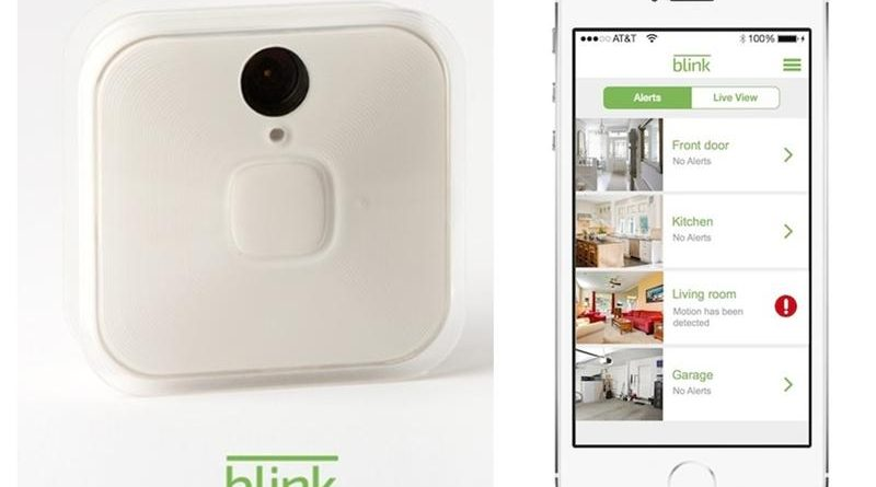 Amazon has acquired Blink Home Security Cameras for $90