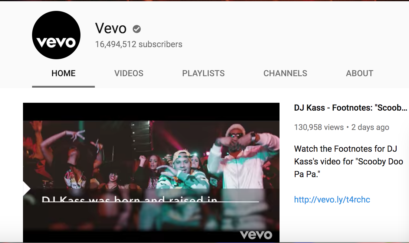 Vevo Youtube Hacked And The Most Viewed Video Of All time