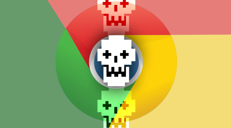 Google Chrome warns spyware