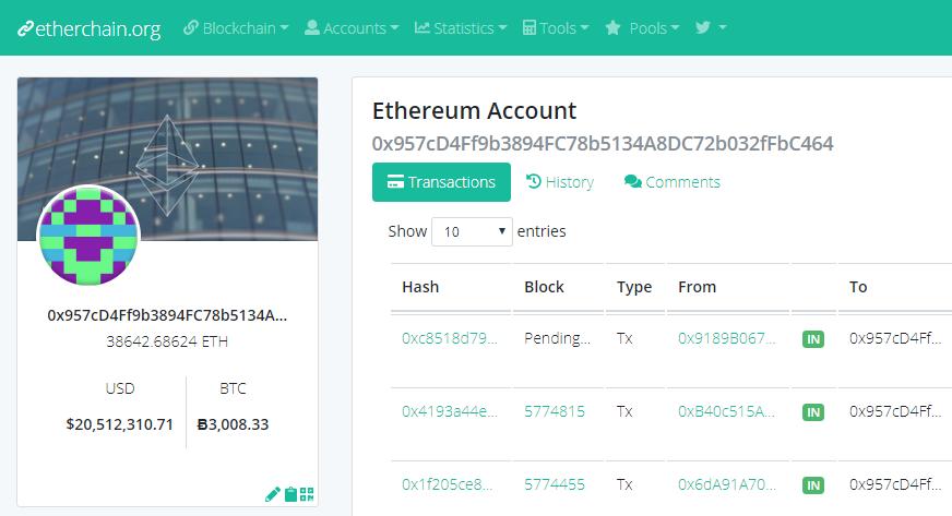 Hacker steal Etheruem from Geth vulnerability