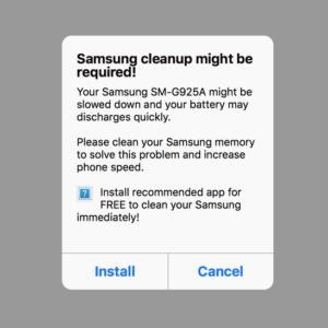 Malicious battery-saver app