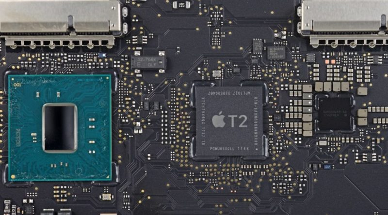 Apple T2 chips