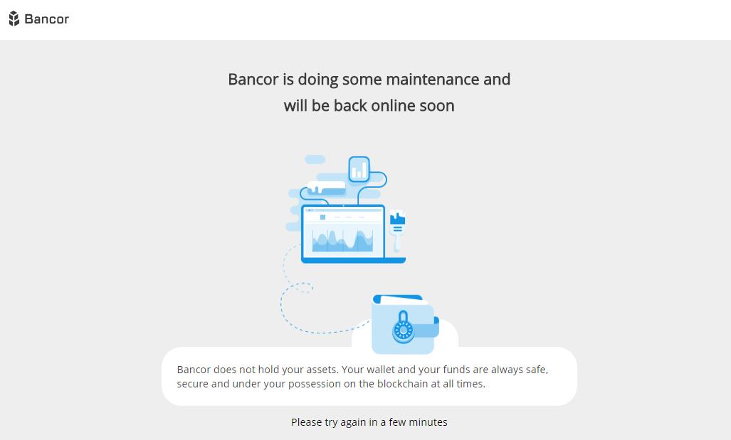 Bancor exchange got hacked