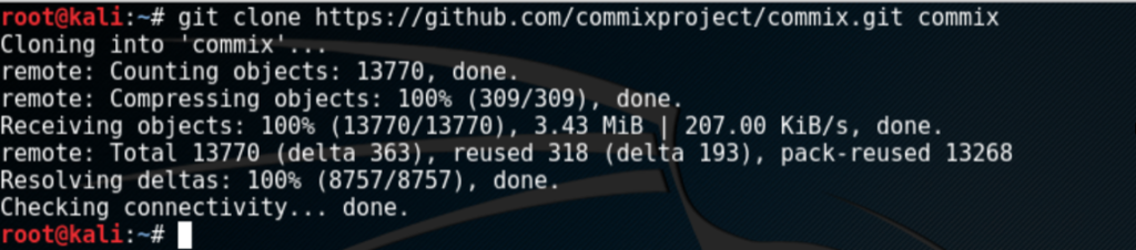 Commix – The OS Command Injection and Exploitation Tool