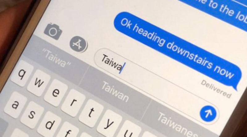 Taiwan iOS bug