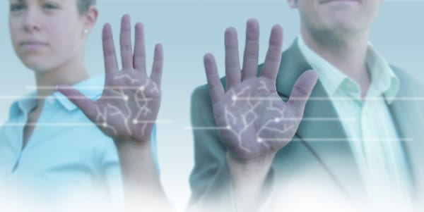 palm vein biometric authentication tech