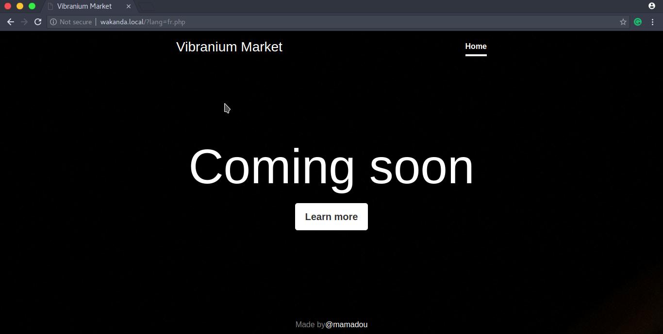 Wakanda 1 - VulnHub CTF Challenge Walkthrough - Latest