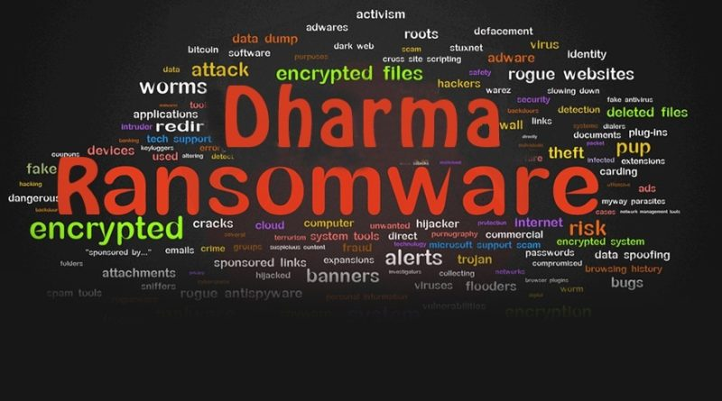 Dharma ransomware variant