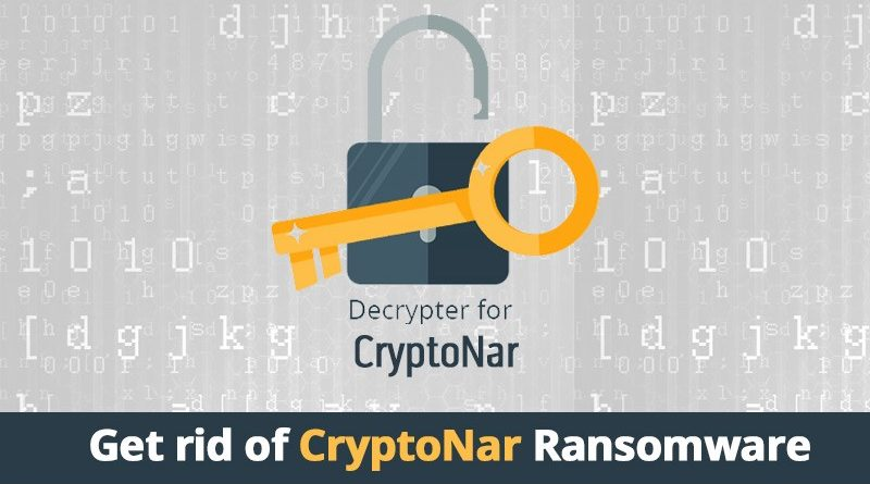 Decrypt CryptoNar Ransomware