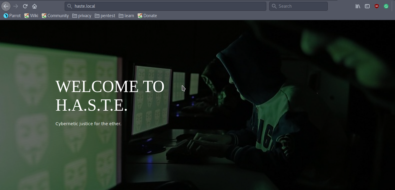 H A S T E - Vulnhub CTF Challenge Walkthrough - Latest Hacking News