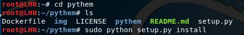 Pythem installation