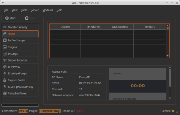 Wifi Pumpkin – WiFi MITM Attack and Audit Framework