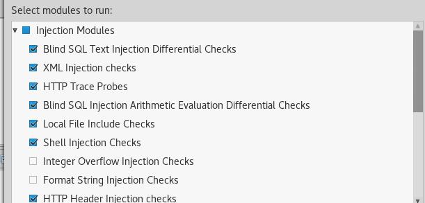Vega Injection Modules