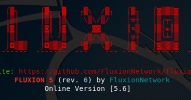 Fluxion – Wifi Security and Audit Framework