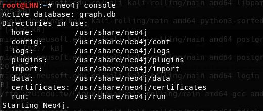 neo4j console