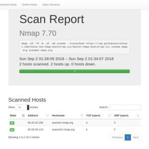 Nmap-xsl-bootstrap