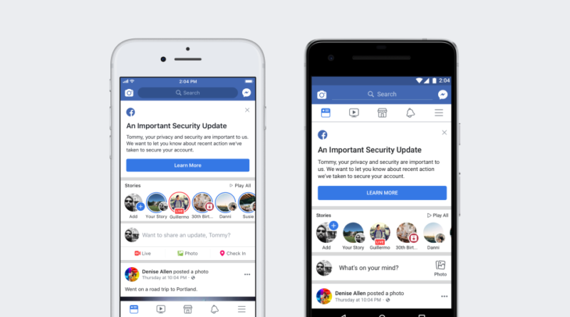 three different bugs triggered Facebook hacks