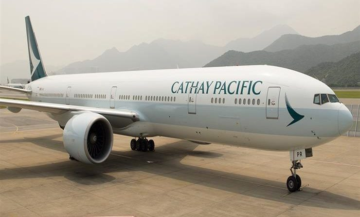 Cathay Pacific punished over breach