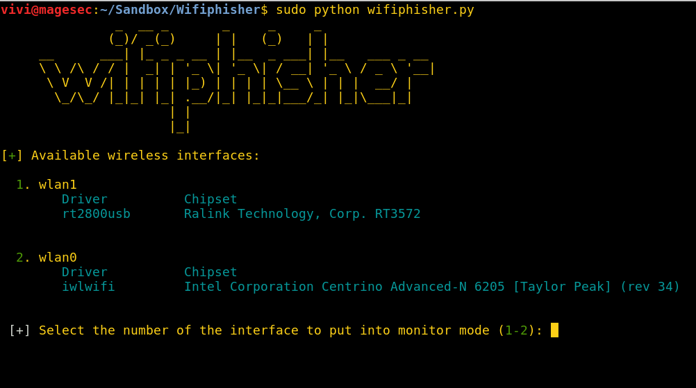 WifiPhisher – WiFi Crack and Phishing Framework - Latest