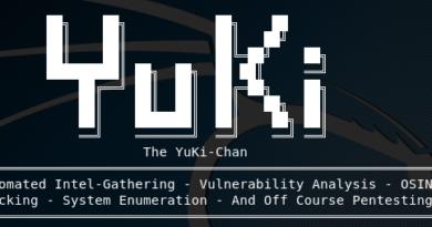 Yuki Chan – The Auto Web Penetration Testing Tool