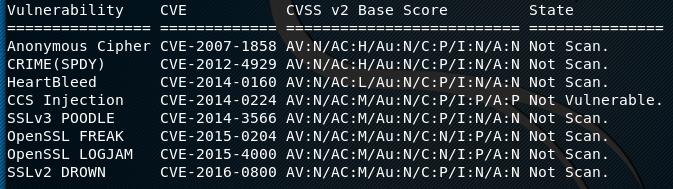a2sv single module scan