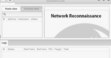 BadKarma – Network Reconnaissance Tool with Advanced Features