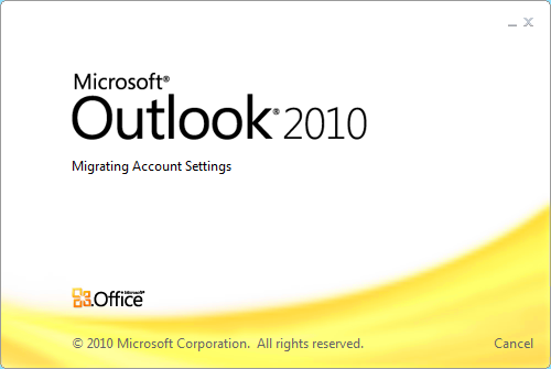 Outlook 2010 crashes