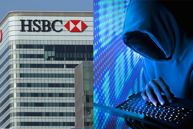 HSBC hacked