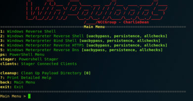 Winpayloads – An Open Source Tool for Generating Windows Payloads