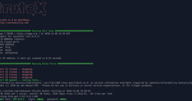 Brutex – Open Source Tool for Brute Force Automation