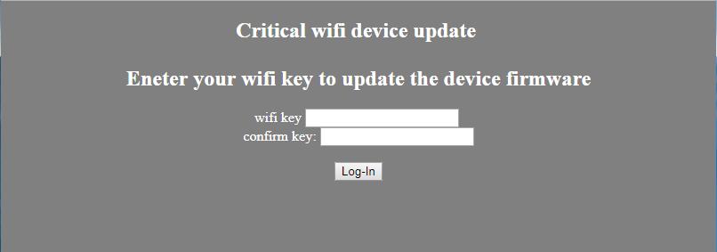 wifi victim page