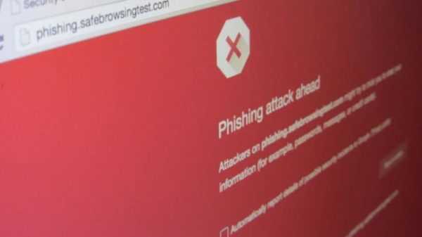 Mimecast report alerts for Phishing attacks