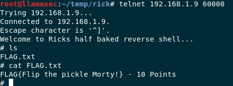 Rick's Half Baked Shell
