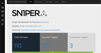 Sn1per – An Automated Pentesting Framework