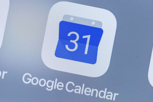 Google Calendar events public