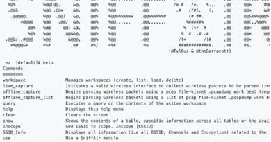 SniffAir – An Open Source Wireless Security Framework