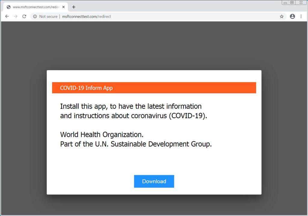 DNS hijacking malware