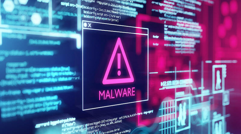 Malware attack on federal agency
