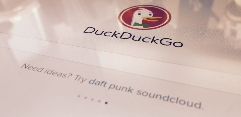 DuckDuckGo collected browsing data